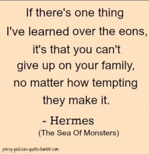 Sea of monsters quote Percy Jackson and the Olympians