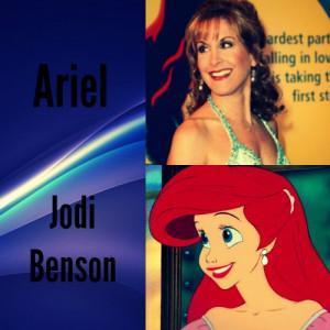 Jodi Benson disney princess Photo