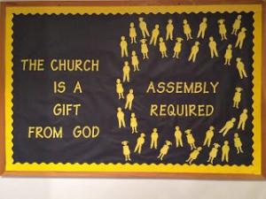 ... Church of Christ: Bulletin Boards Idea for a bulletin board