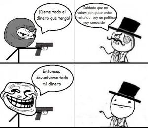 humor grafico memes en español sobre politica