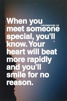 When u meet someone special... More
