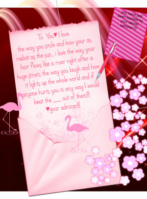 Secret Admirer Quotes Image Search Results Picture