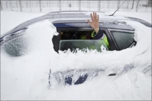 Snow Storm in Romania (9 pics)