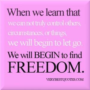 FREEDOM (vs Merry go Round)