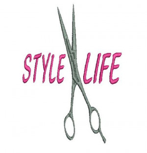 STYLE LIFE FOR HAIR STYLIST Machine Embroidery Design