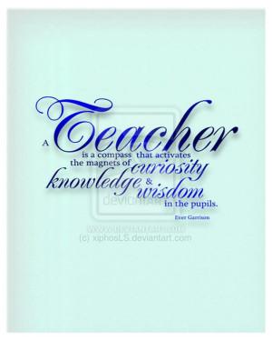 teacher quotes by xiphosLS
