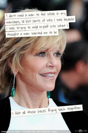 "Jane Fonda before protesters, calls from Vietnam photos ""Big mistake ..."