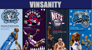 Have is saying Vince Carter on it, and
