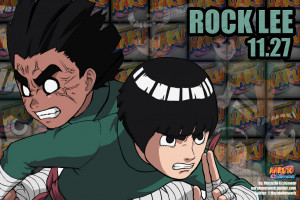 am the Handsome Devil of the Konohagakure! My name is Rock Lee ...