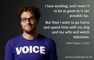 Inspirational and Motivational Quote from Hollywood Actor Seth Rogen ...