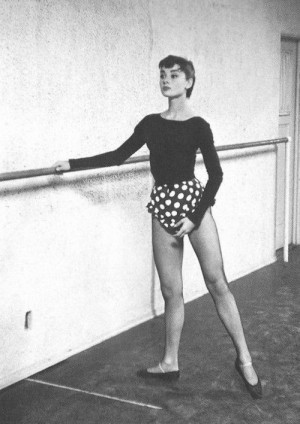 Audrey was quite the dancer! It's funny that most people have no ...