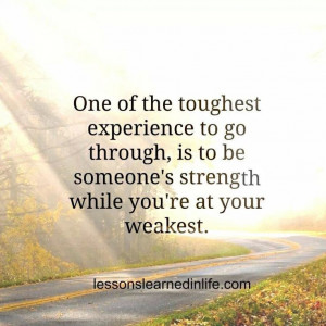 Being strong for others | Quotes | Pinterest