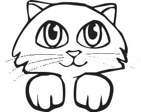 kitten clipart 6 287×229