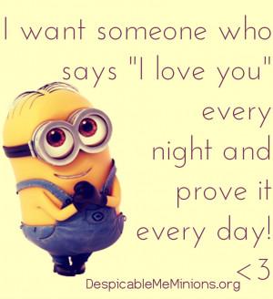 Minion Friend Quotes Love You Quot Minion Quotes