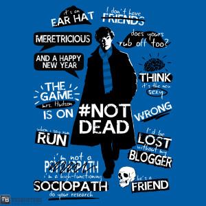 Garima Ft Sherlock Holmes   Keep calm and sherlock on!!! :)