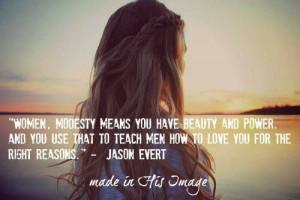Jason Evert #quote #modesty #women #power ...
