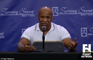 Revelations: Former boxing champ Mike Tyson revealed at a press ...
