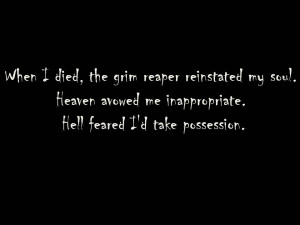 grim reaper quotes death
