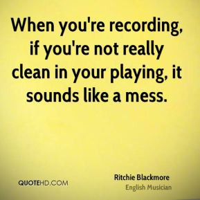 More Ritchie Blackmore Quotes