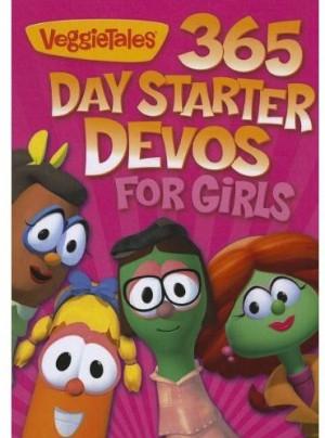 VeggieTales 365 Day Starter Devos for Girls Book Review ? Here ...