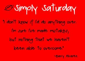 Simply Saturday