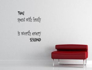 Time Spent with Family Quotes