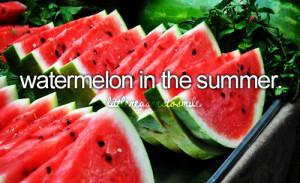 food summer fruit watermelon