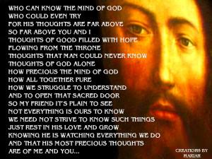 faith poems