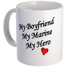 My Boyfriend My Marine My Hero Mug for