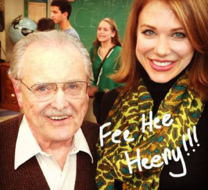 Boy Meets World 's Mr. Feeny And Rachel Reunite With Cast On Girl ...