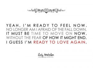 Lady Antebellum, Ready To Love Again