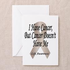 Stomach Cancer Greeting Cards (Pk of 10) for