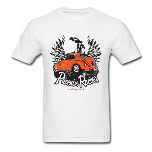 Solid Mens T Shirt Racing Car Vintage Quotes T-Shirts for Men(China ...