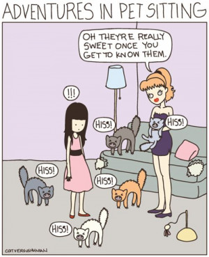 Have you worked as a pet sitter? I have.