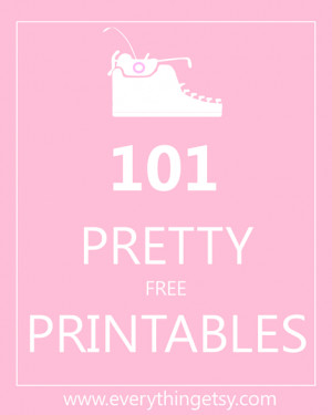 BIG HUMONGOUS THANK YOU to Everything Etsy for compiling this list.