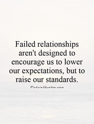 Failed Relationships Aren...