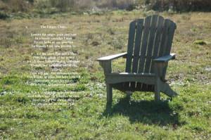 Empty Chair Poem