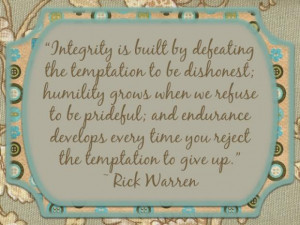 Honesty Character Integrity