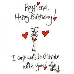 sexy happy birthday quotes for boyfriend Funny Birthday Card Boy...