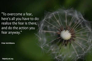 Daily Inspirational #Quotes -- overcoming fear #selfhelp