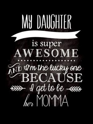 Chalkboard art #quote ToniK ⊱CհαƖҜ ℒЇℕ℮⊰My #daughter ...