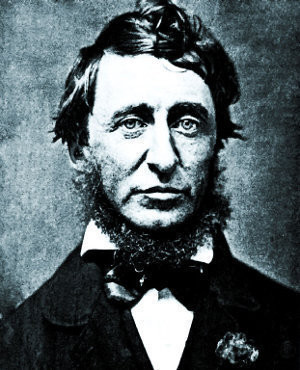 Henry David Thoreau (1817 – 1862) was an American poet, author ...
