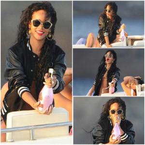 Rihanna Loves Criminal Damage!
