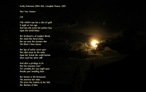 it's one of my moon photos with one of Emily Dickinson's Moon poems ...