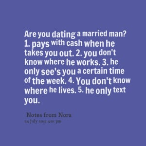how to move on from dating a married man
