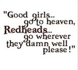 Redhead Quotes Graphics, Redhead Quotes Images, Redhead Quotes ...