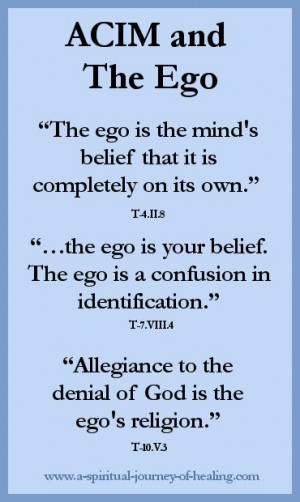 Ego Quotes | spiritual journey of