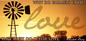 Cute Farming Quotes We love our farmers too!