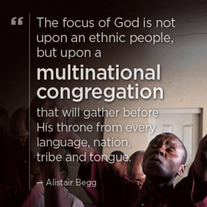 focus of God is not upon an ethnic people, but upon a multinational ...
