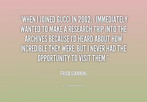 Gucci Quotes